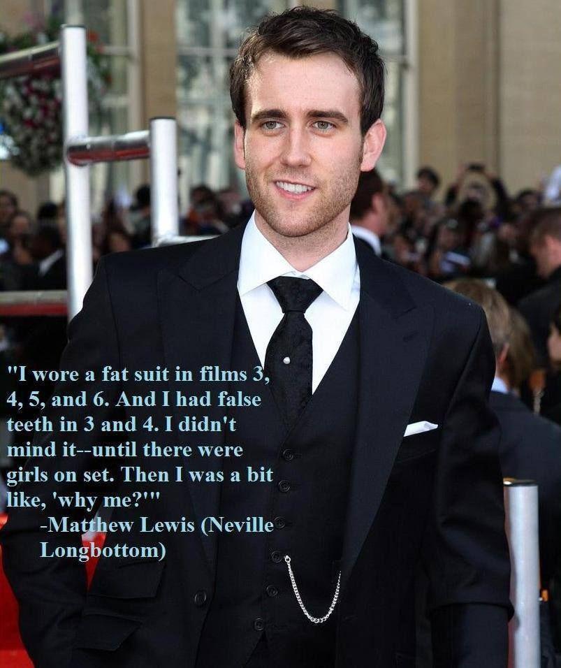 Poor Matt P Matthew Lewis Harry Potter Love Harry Potter