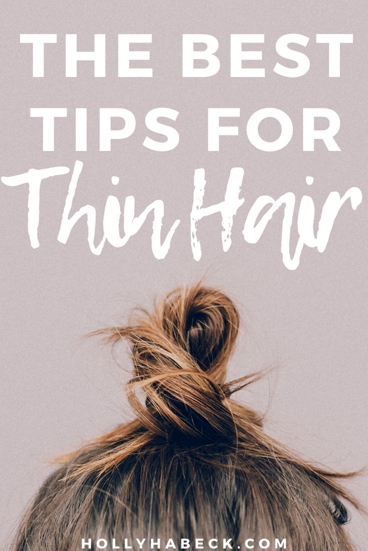 How to Do a Messy Bun With Thin Hair - Holly Habeck -   17 easy hair Tips ideas