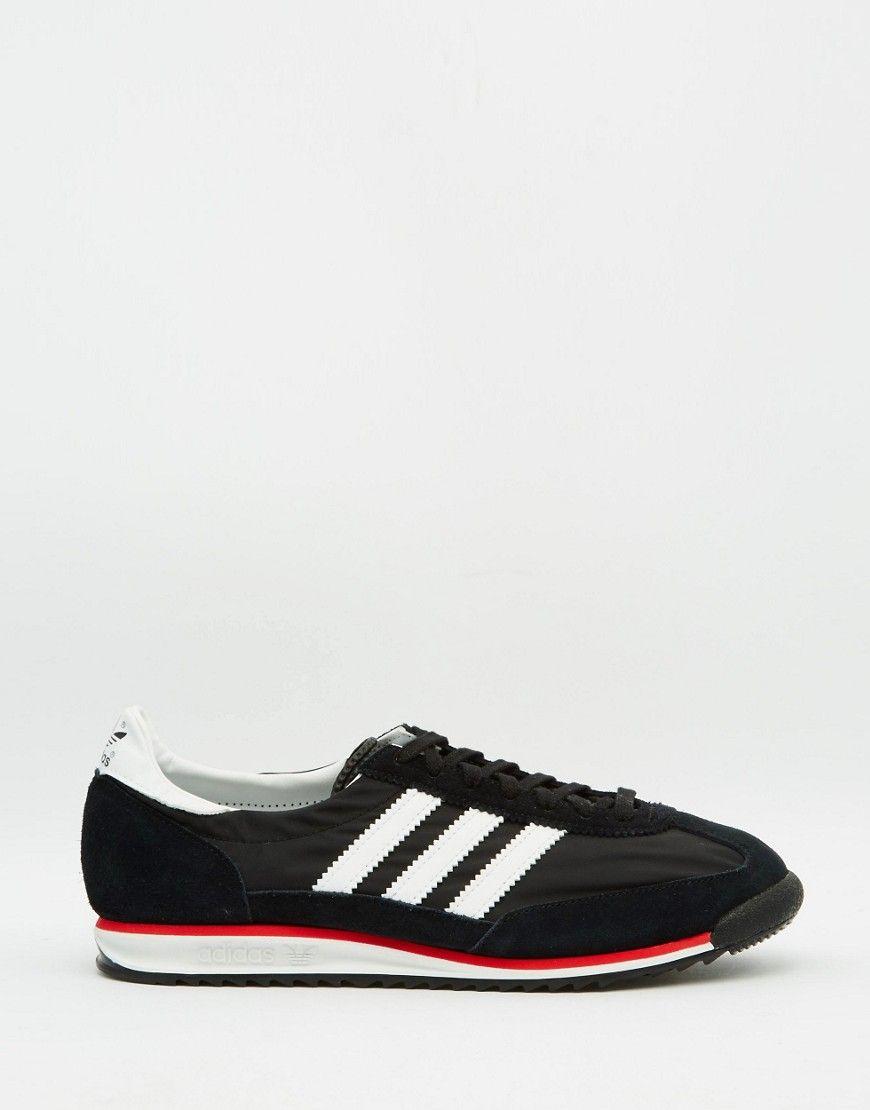Adidas Originals Sl72 Black Casual Shoes - Men