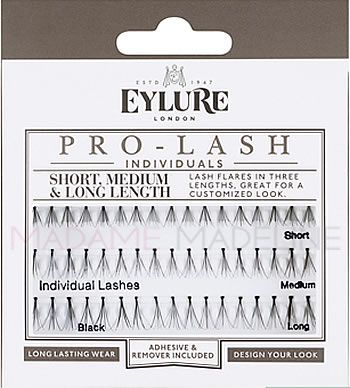 0fdc3fe3a89 Eylure PRO-LASH Individuals Combo pack contain lash clusters from short to  medium to long giving you the option to create a customized look from  subtle, ...