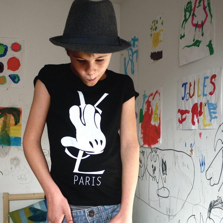 0425b3af5 Yves Saint Laurent kids tee | Children T-shirts | Shirts, Tees, T shirt