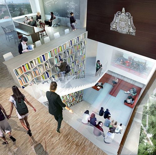 Jeanne Gang To Build Dorm That S Googleplex Meets Hogwarts Residence Hall Campus Design Student House