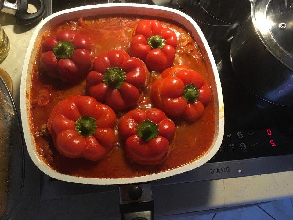 Gefüllte Paprika von morfel | Chefkoch