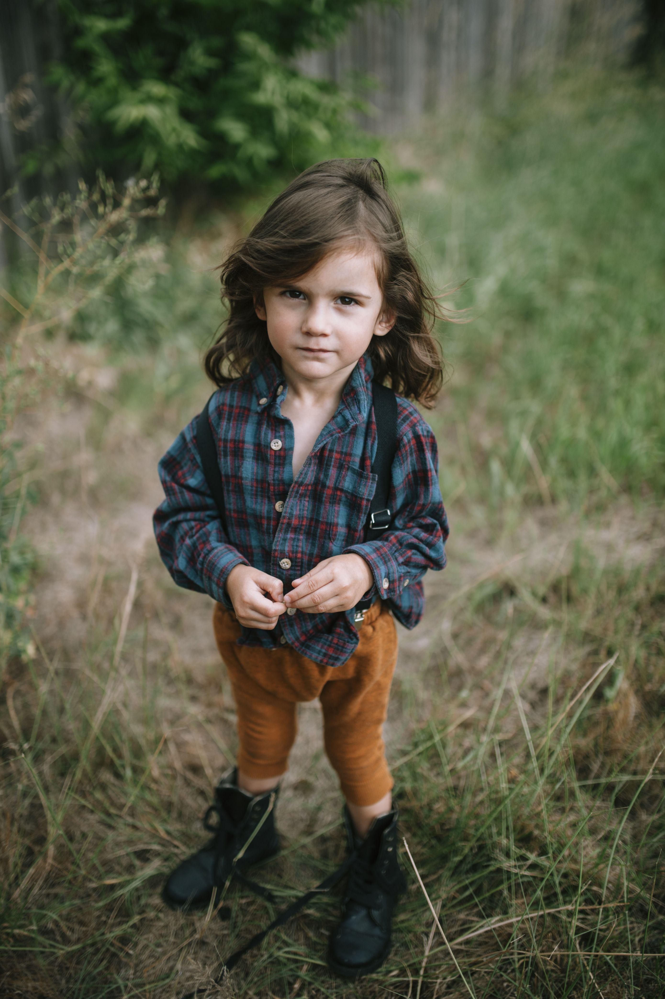 little boy style kid