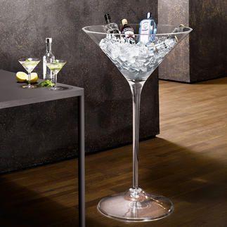 XXL-Cocktail-Glas Viel bestaunt als Obstschale, für Blumen & mehr. Perfekt…