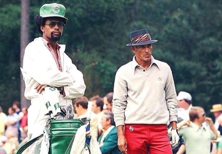 Chi Chi Rodriguez And His Caddy Chi Chi Insta Fashion Golf History