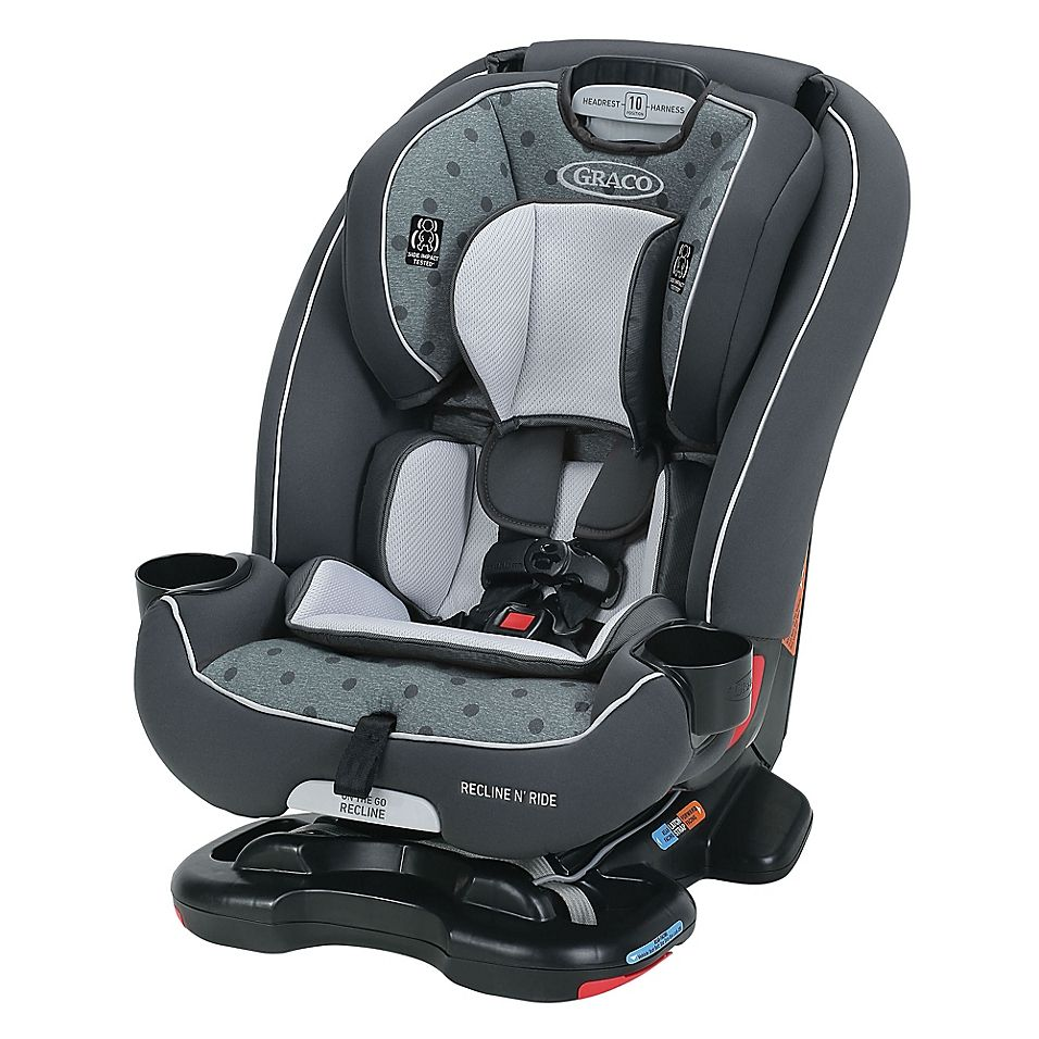 Graco Recline N Ride 3 In 1 Car Seat Featuring On The Go Recline In Clifton Grey In 2020 Baby Car Seats Best Convertible Car Seat Car Seats