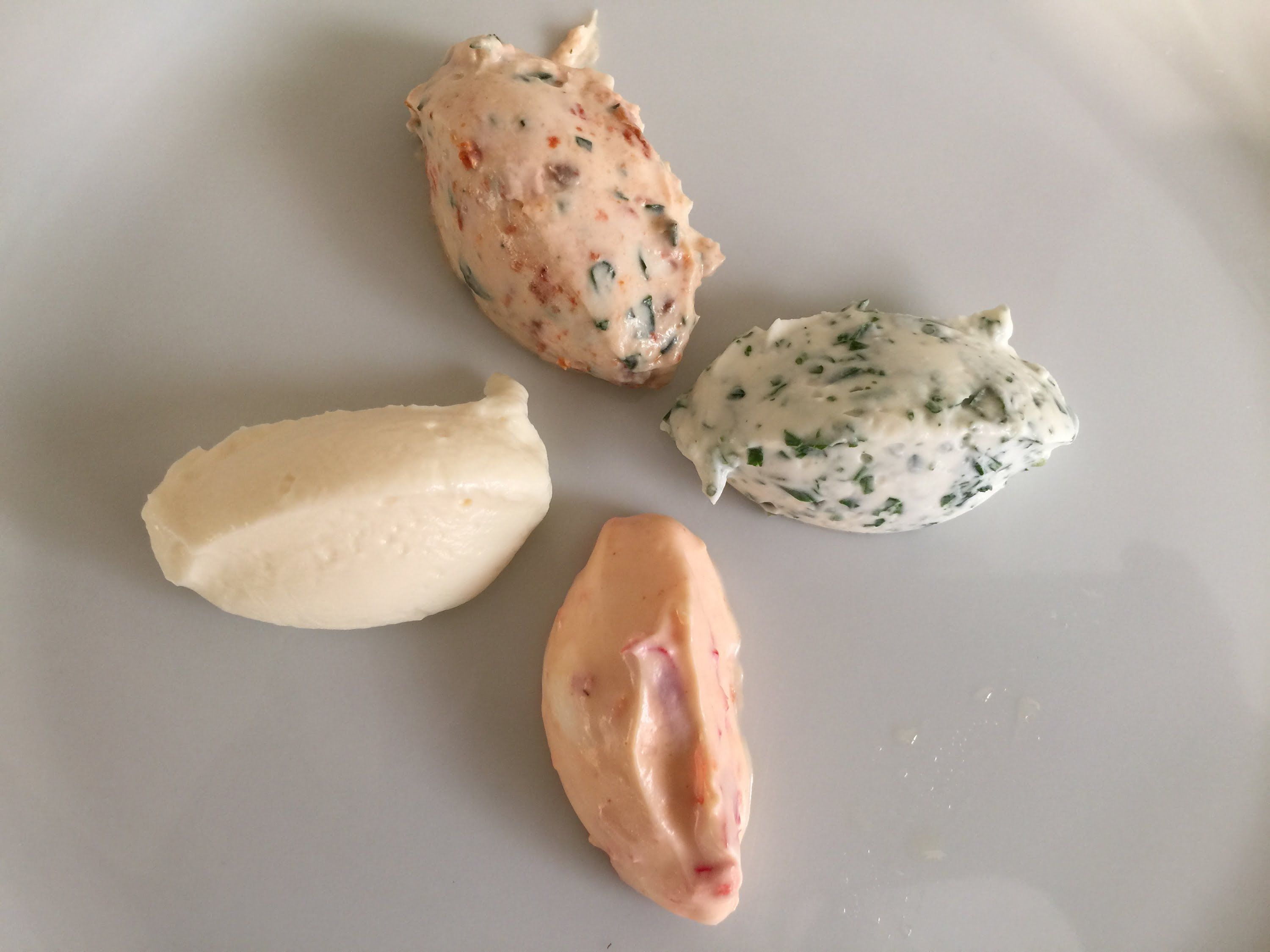 Thermomix - Frischkäse 4 Variationen