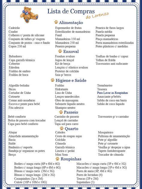 Diário da Gravidez   Lista de Compras para o Enxoval do Lorenzo - O que  comprar para a chegada do bebê f05c2307beb