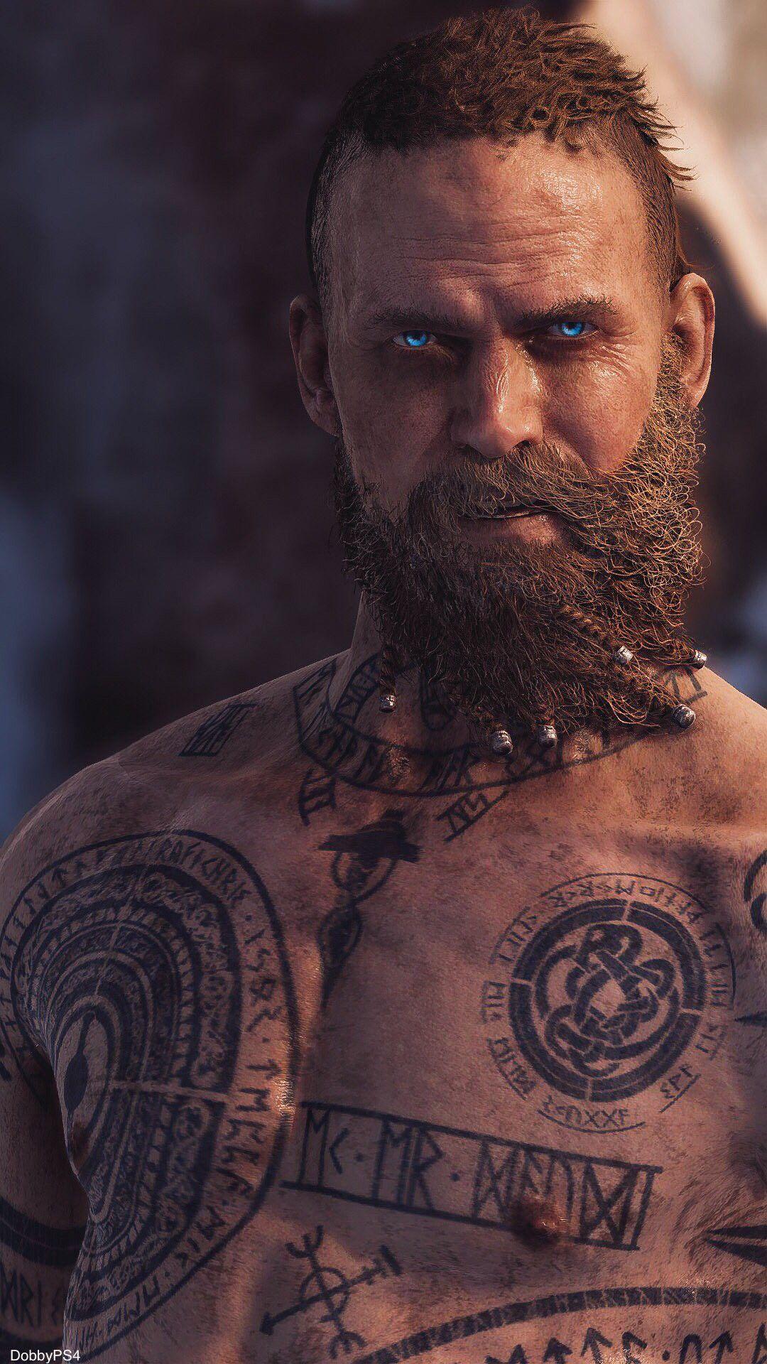 Baldur Tattoos Physique And Features Pinterest God Of War