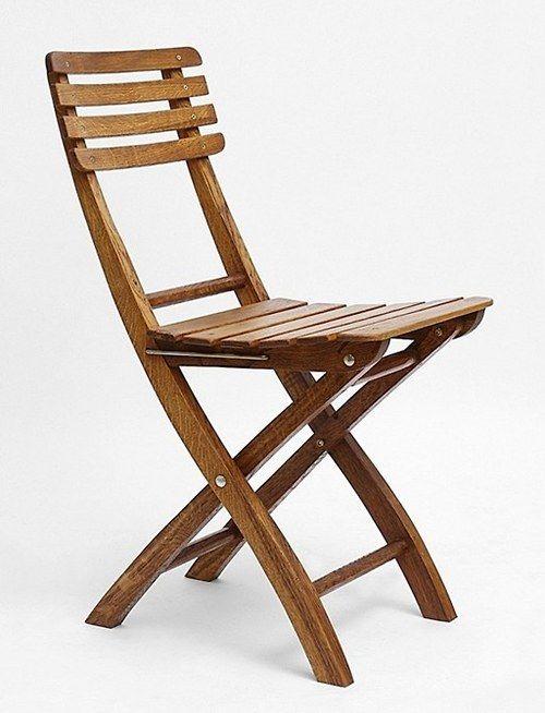 Zahradní skládací židle