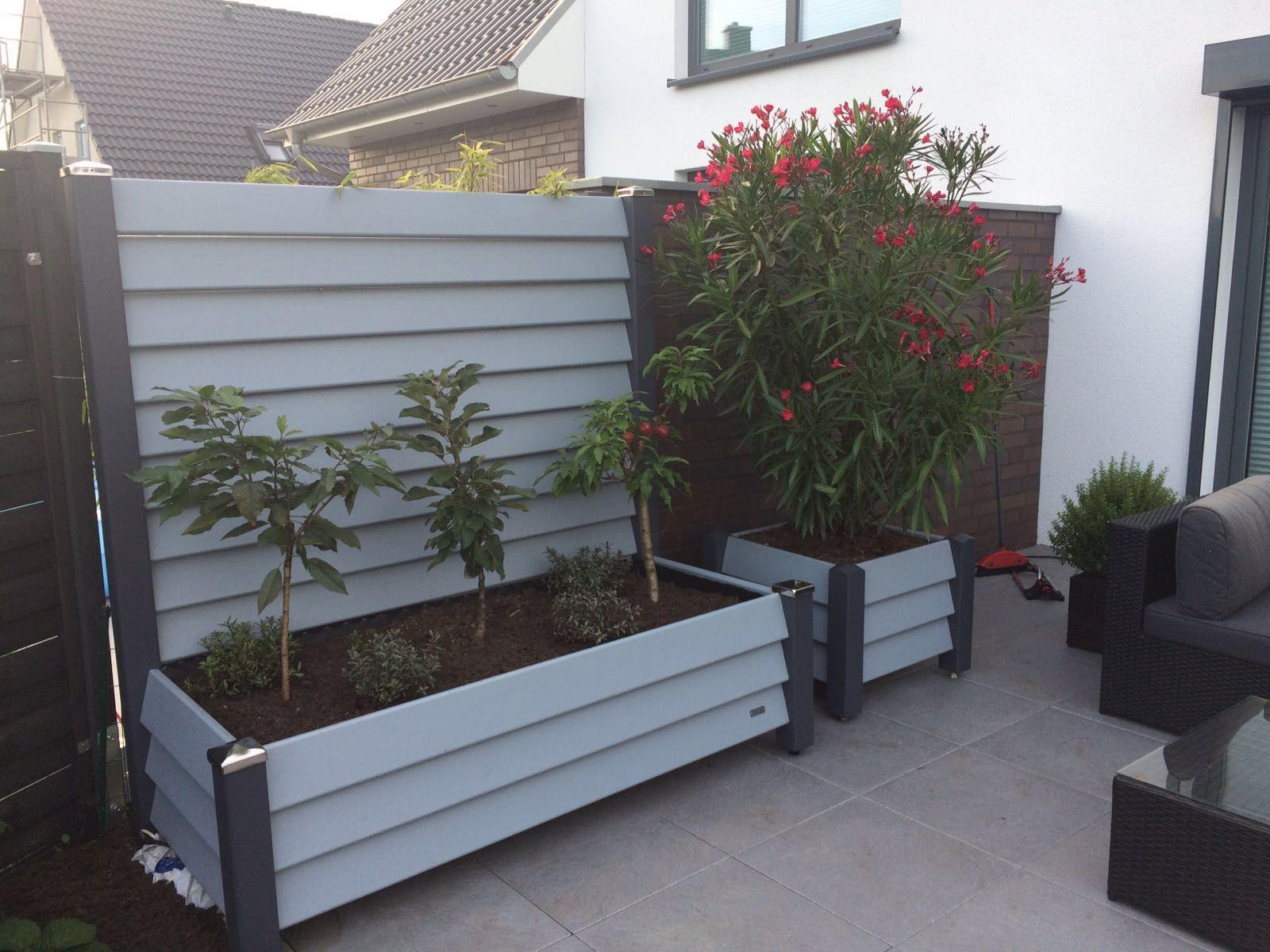 Mobile Sichtschutz Elemente ideal für Terrasse, Garten