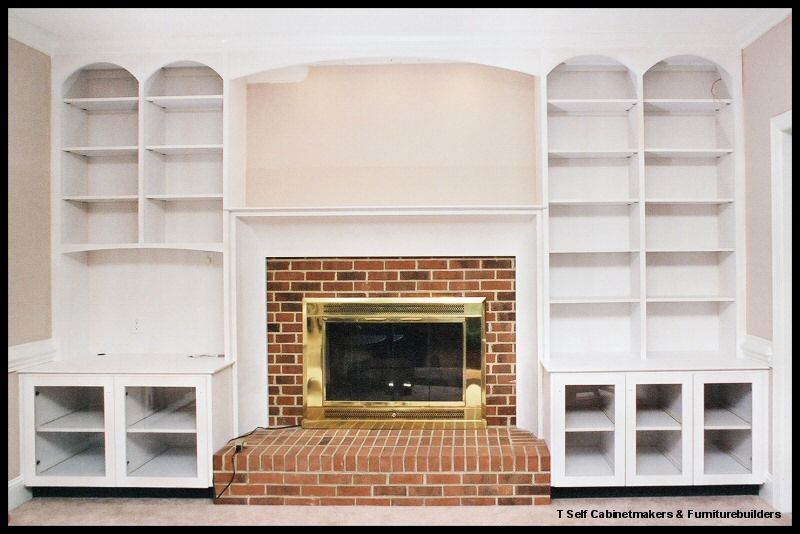 photos fireside bookcase surrounds | Bookcases & fireplace ...