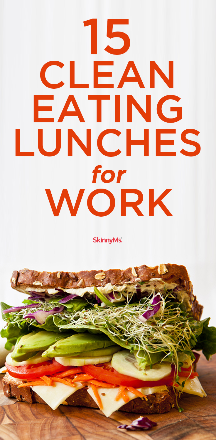 15 clean eating lunches for work skinny ms eats pinterest