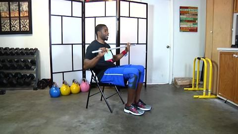 Pin On Chair Workouts