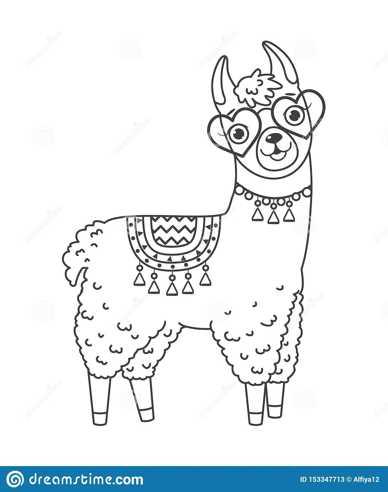 Cute Llama Coloring Pages Top 12 Blue Chip Coloring Pages Llama Best For Kids Flower