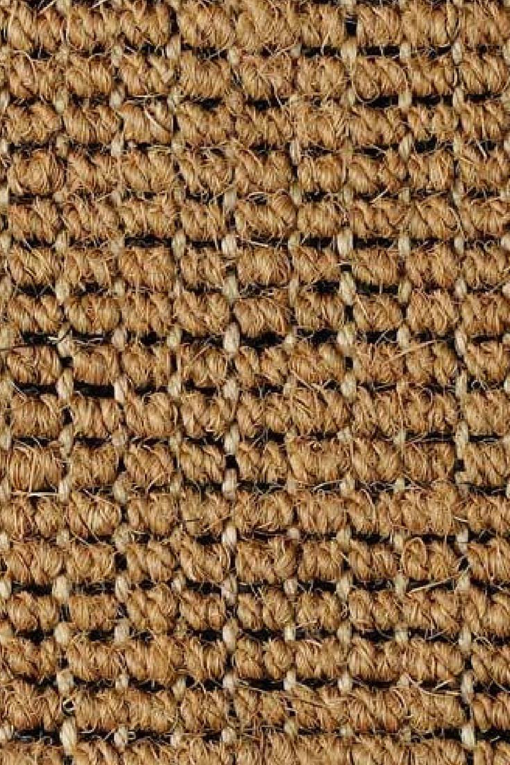 Superior Coir Black Sisal Weft natural fibre carpet is