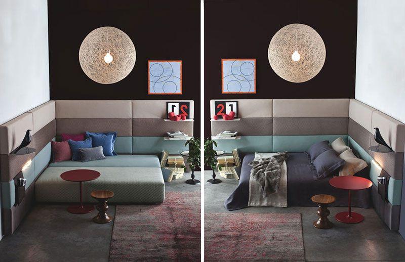 Pouf Soggiorno ~ Twils set sistema divano modulare arredo per soggiorno