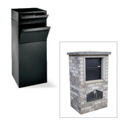 Dvault Dvcs0015 Full Service Curbside Vault Mailbox With