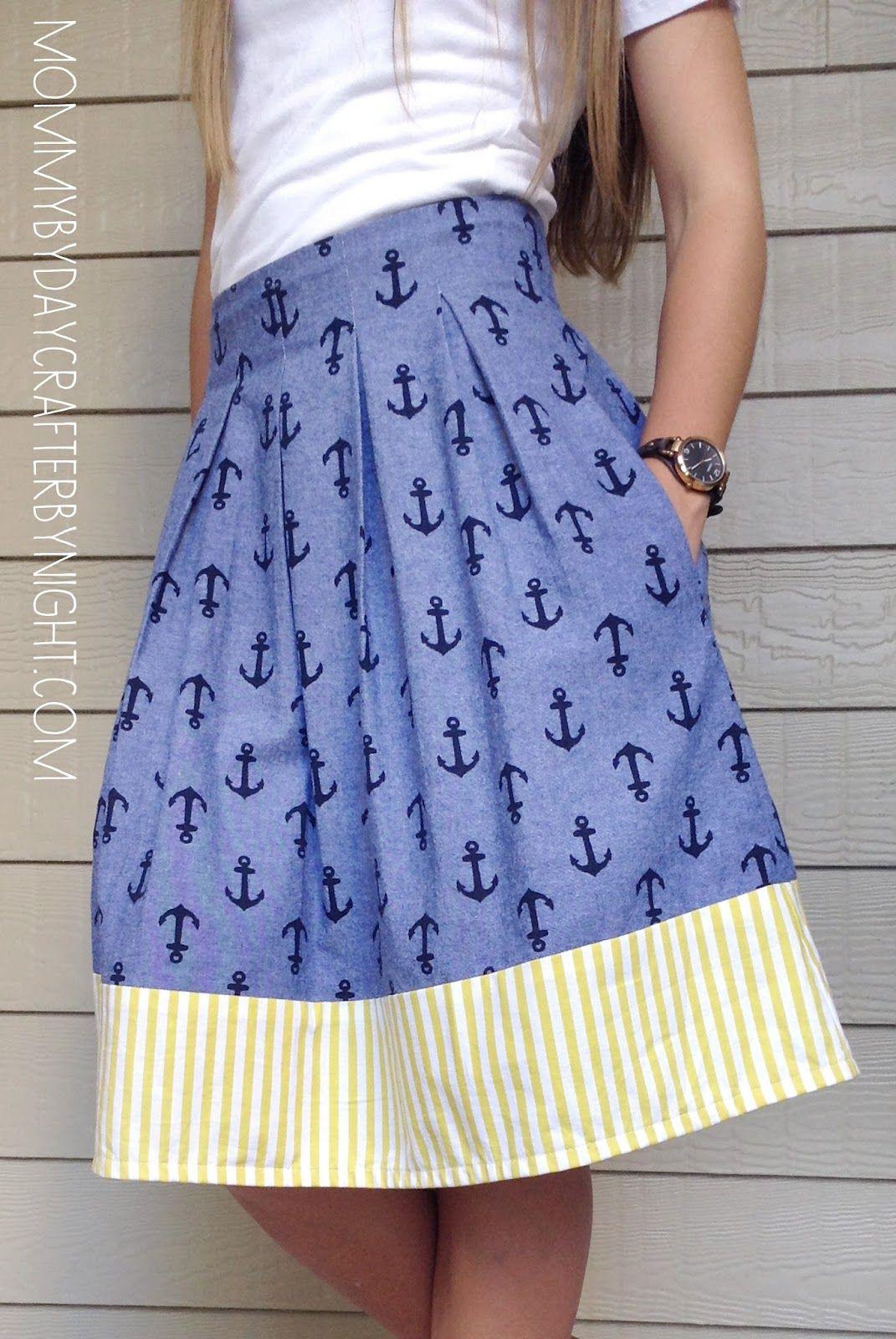 Anchor Chardon Skirt | Kleidung nähen, Nähen und Erwachsene