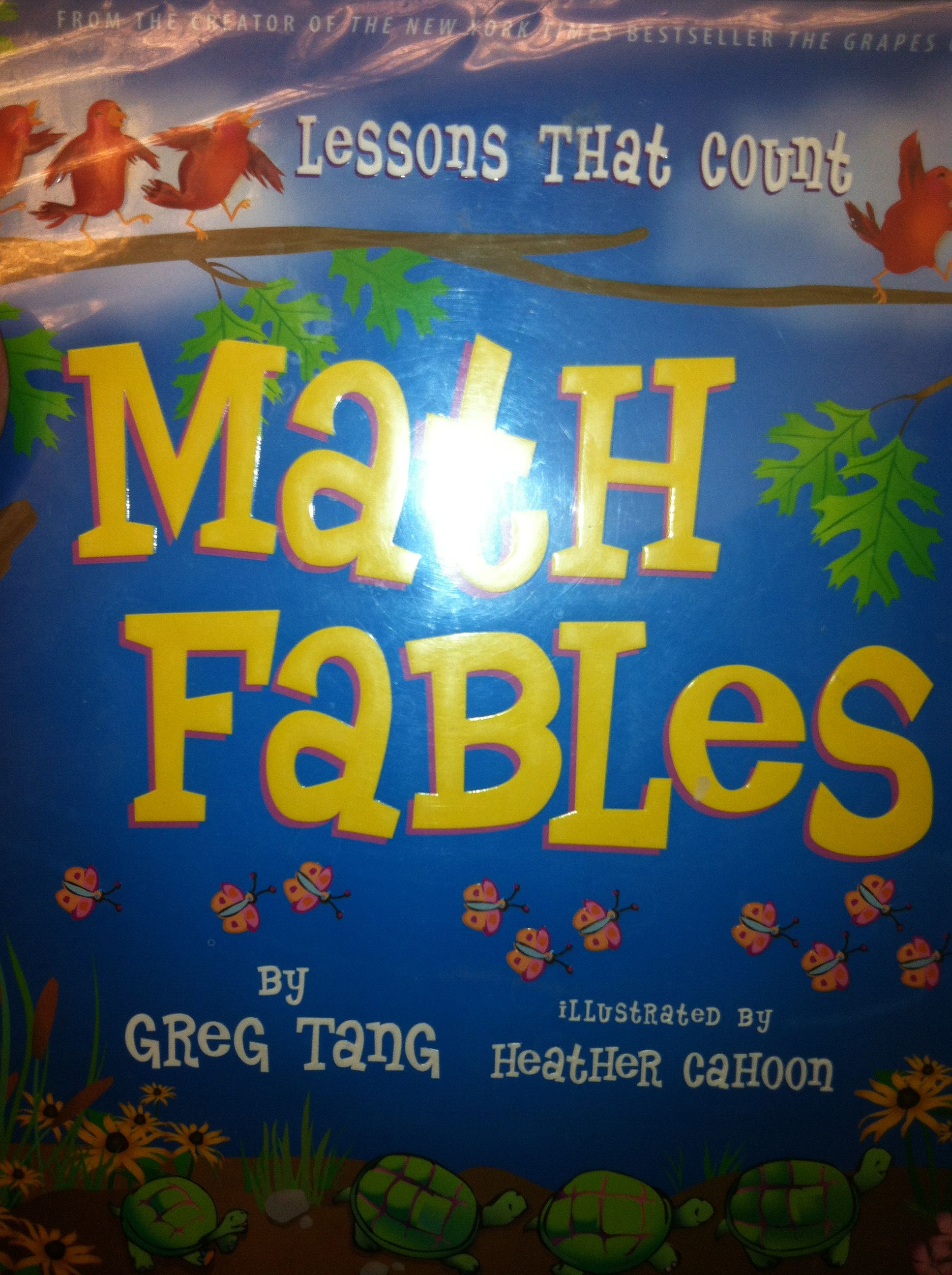 Math Fables Re Grouping