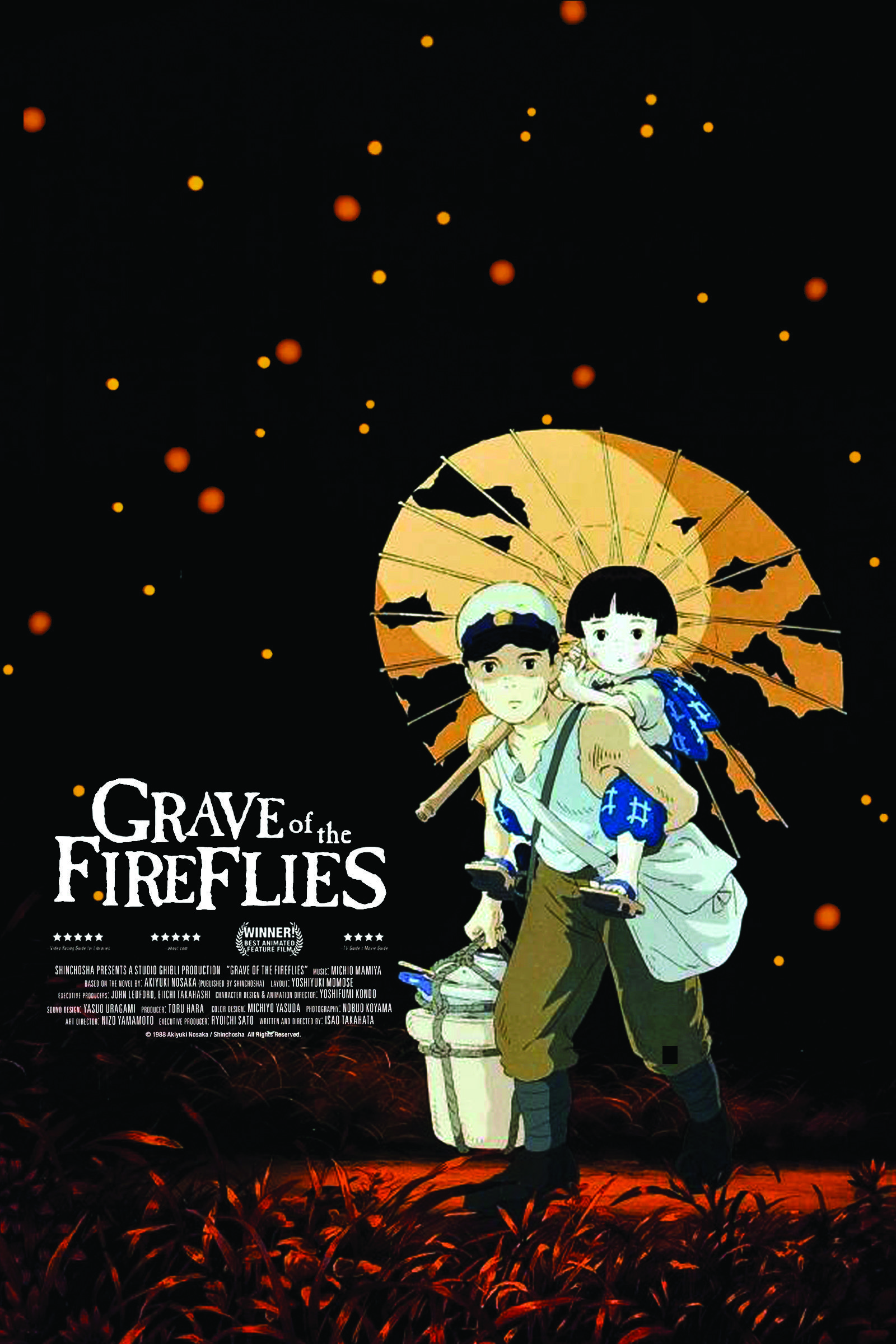 Grave of the Fireflies poster trong 2019 Phim
