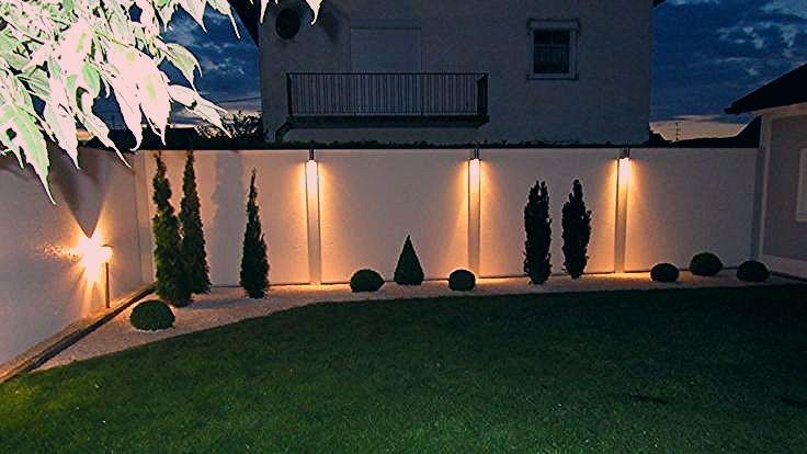 Photo of Sichtschutz mit Standardabdeckung und Beleuchtung bei Nacht – My CMS – My Blog