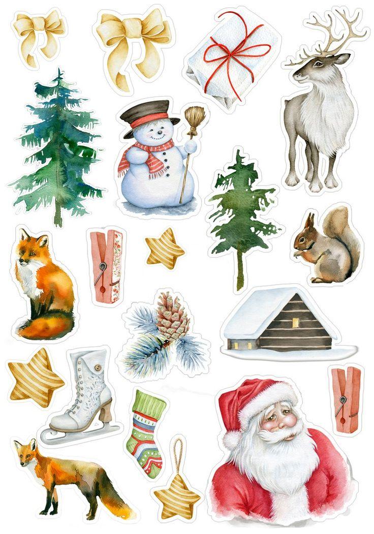 цвет рождественские картинки скрапбукинг заметил, как они