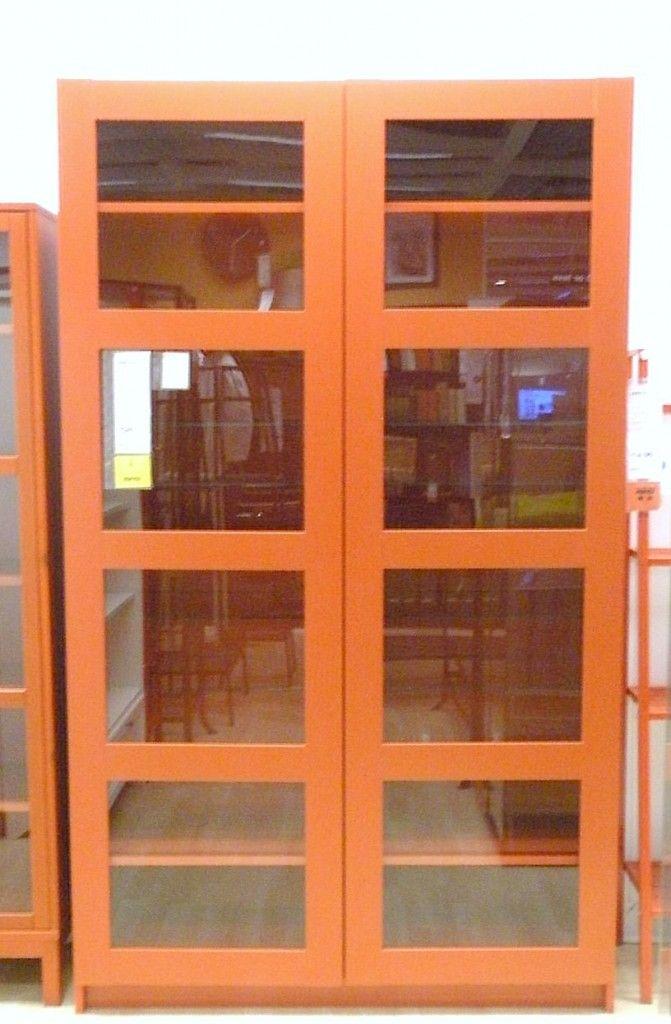 Bergsbo Bookcase W Glass Doors 249 Love Bookshelf