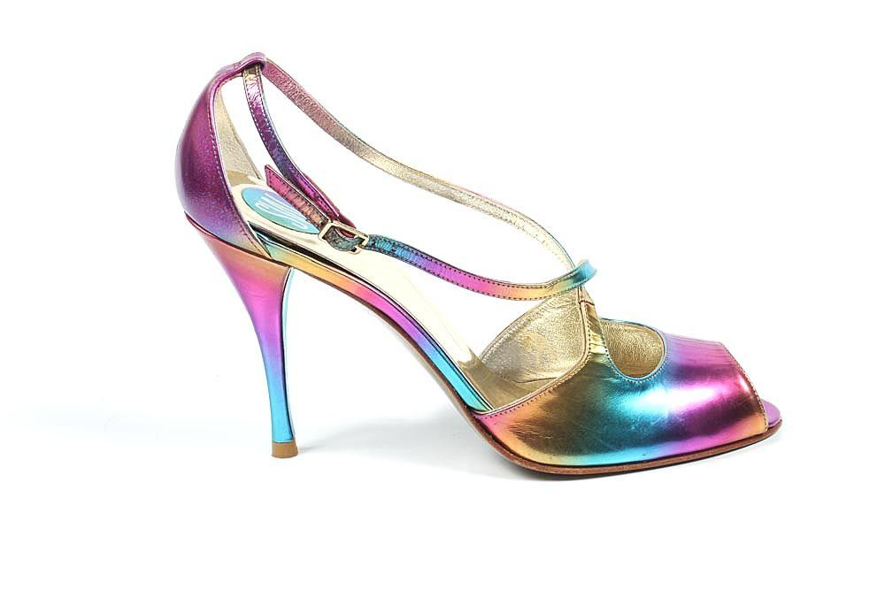 Stuart Weitzman Damen Sandalen Dcexert Rainbow