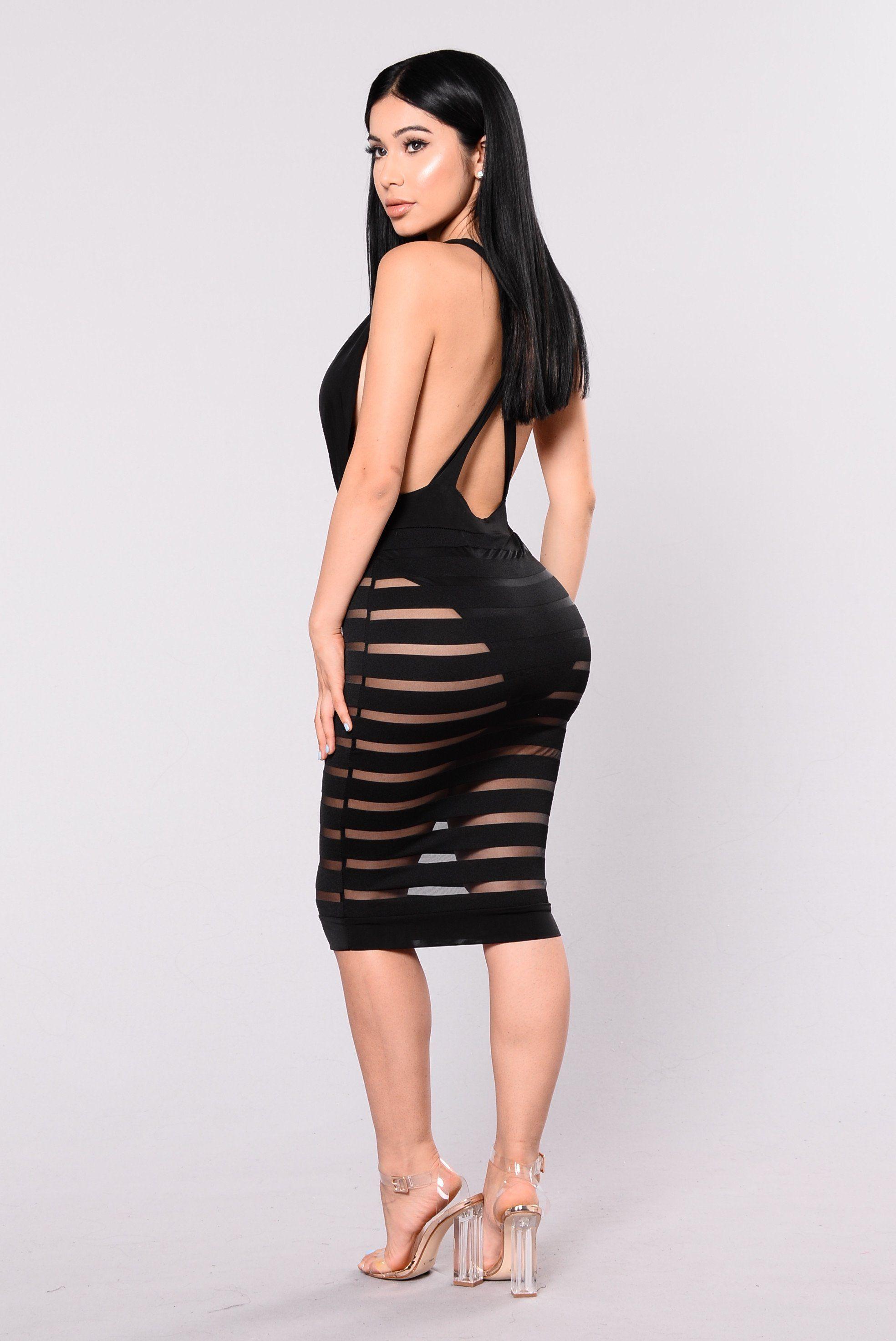 Contigo Dress - Black | Lange kleider, schöne Frauen und Kleider