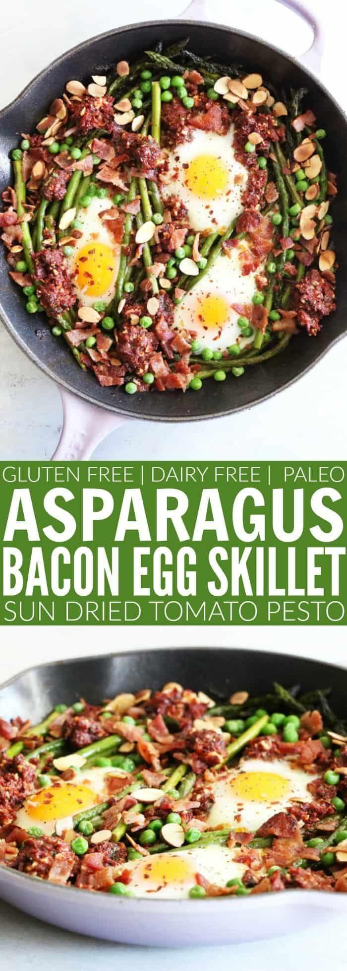 Egg Breakfast Skillet I hope you guys love this Asparagus + Egg Breakfast Skillet!! Loaded with ton