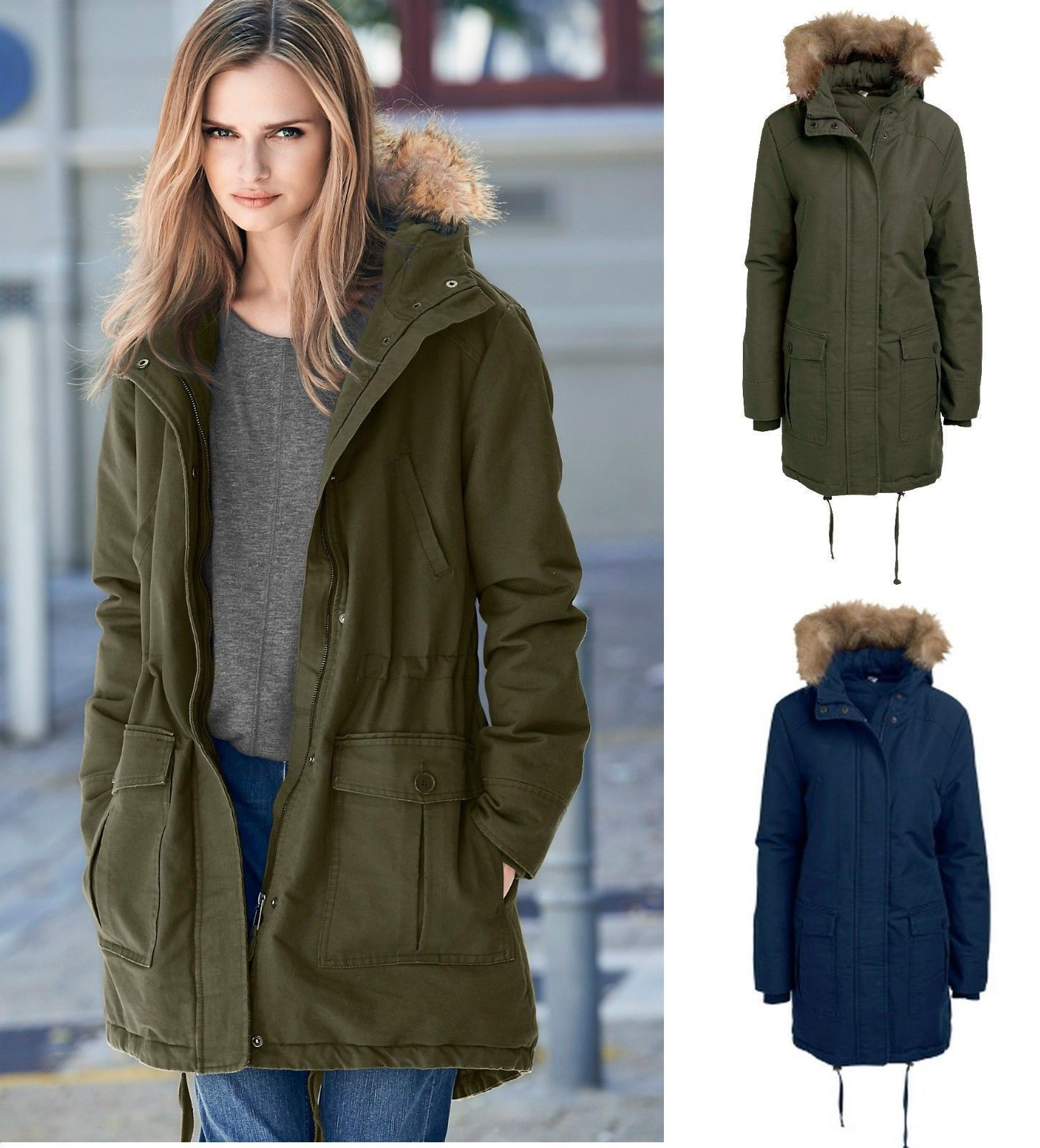 ladies-long-parka-jacket | Parka Jacket | Pinterest | Models, Lady ...