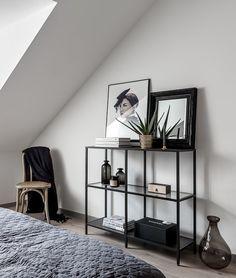 Attic Home with a metal staircase – COCO LAPINE DESIGN Yatak odası