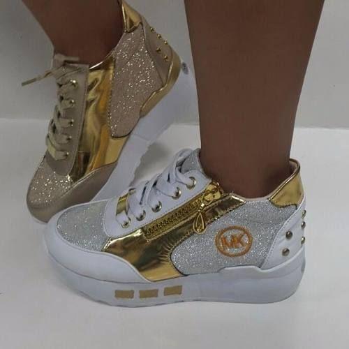 sports shoes 02a33 9baf2 botas botines calzado mk para niñas de moda colombianos