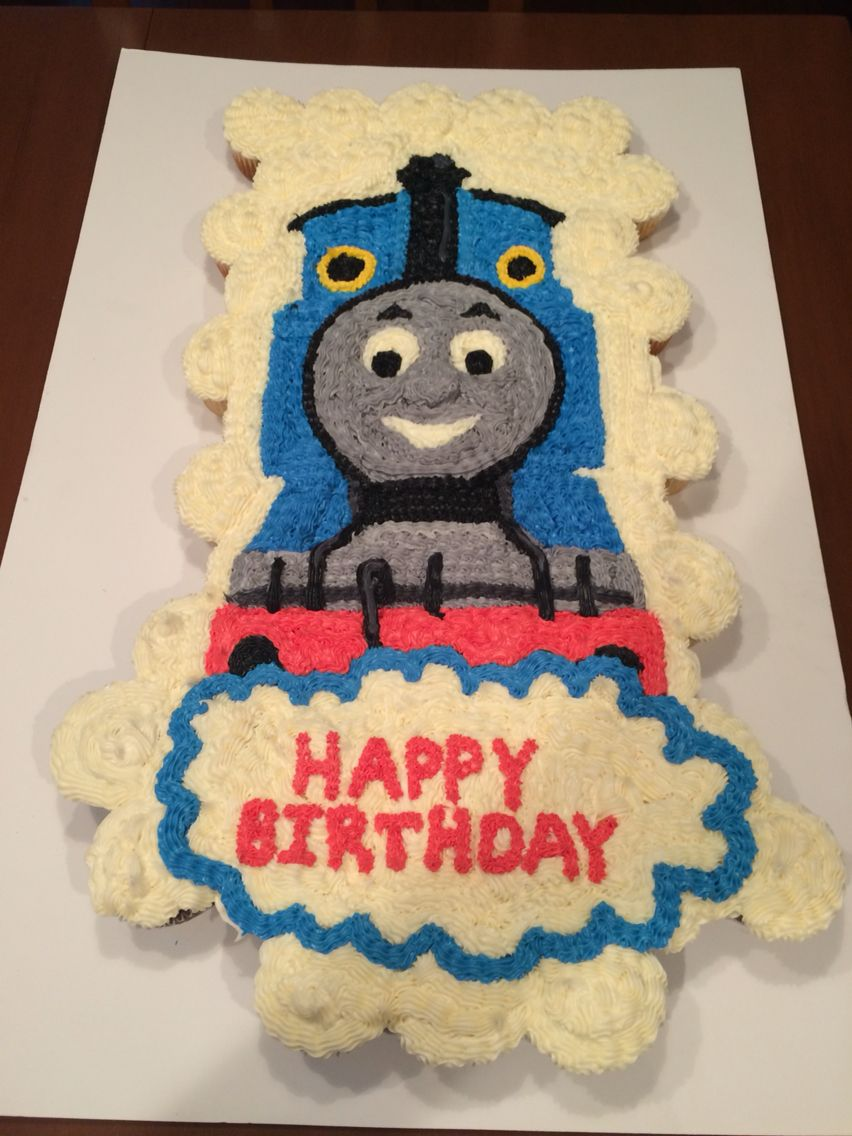 Thomas The Train Cupcake Cake Cooks Creations Pinterest Train