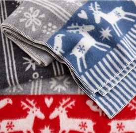 who wouldn't want to cosy up with one of these this Christmas! Lappland Wool Blanket