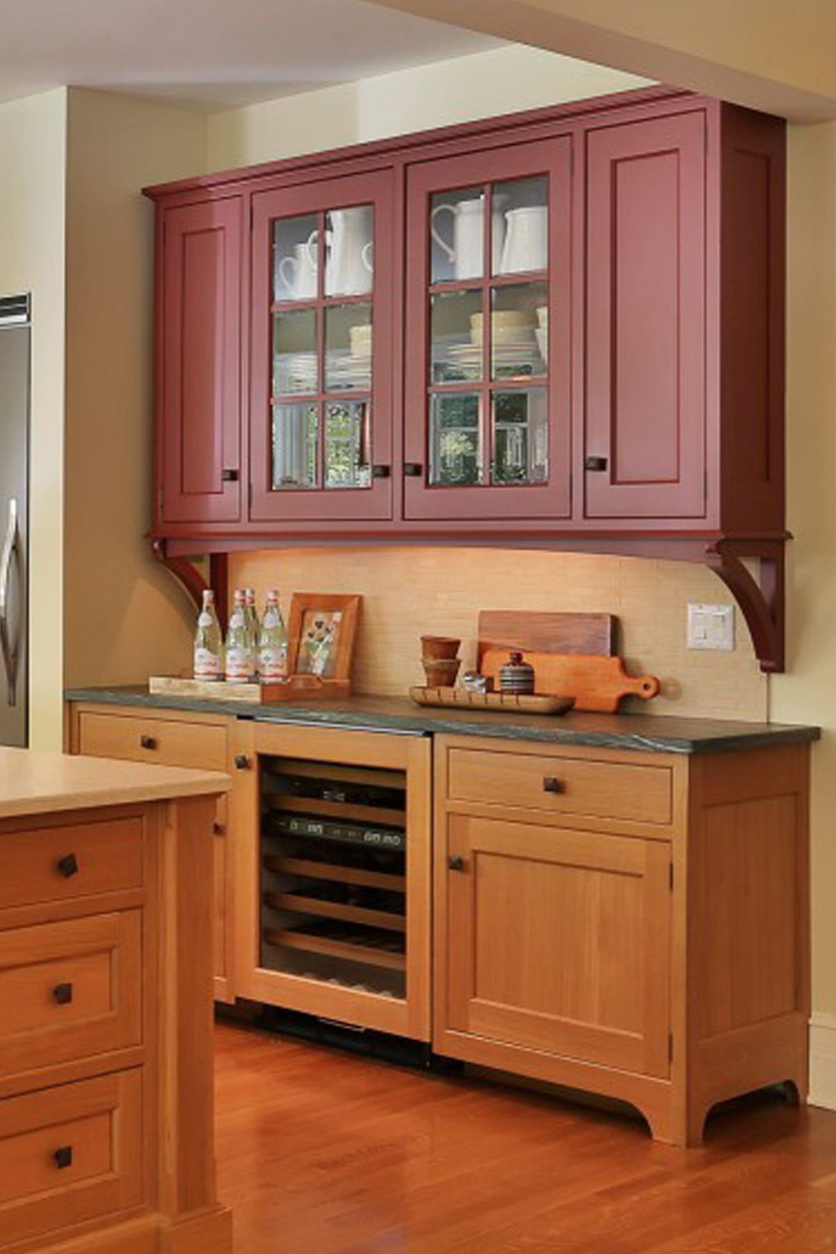 Transitional Kitchen Design Bilotta, NY Wooden kitchen