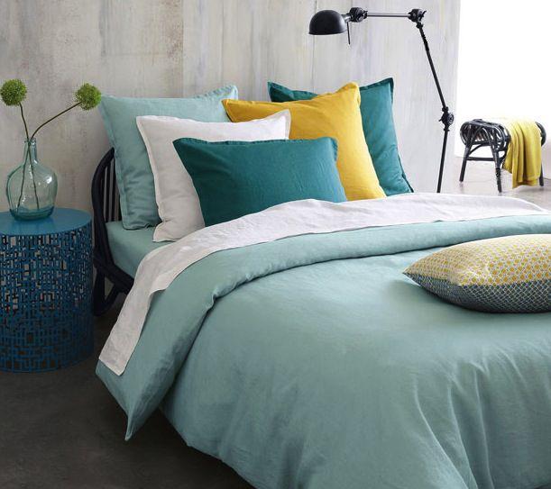 Décoration chambre naturelle ou tropicale, tête de lit,