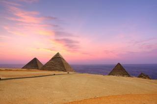 Pyramids Free Stock Photo