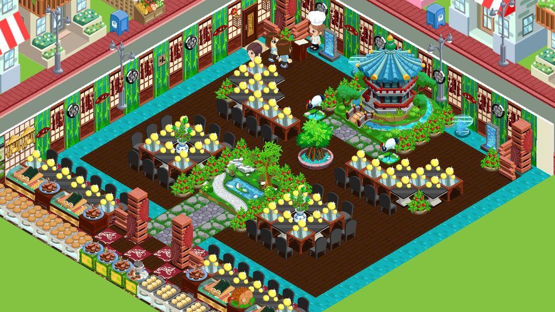 Restaurant Story layout ideas Game app, Restaurant, Games