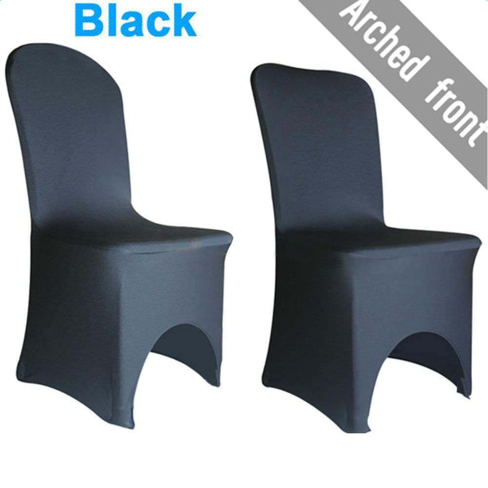 New 100pcs Universal Polyester Spandex Wedding Chair Covers White Or Black 159 39 End Date 2 Stretch Chair Covers Chair Covers
