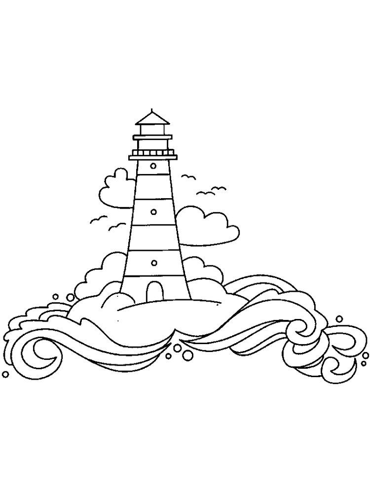 Lighthouse Coloring Pages Printable Below Is A Collection Of Lighthouse Coloring Page Which You Ca Coloring Pages Cool Coloring Pages Printable Coloring Pages