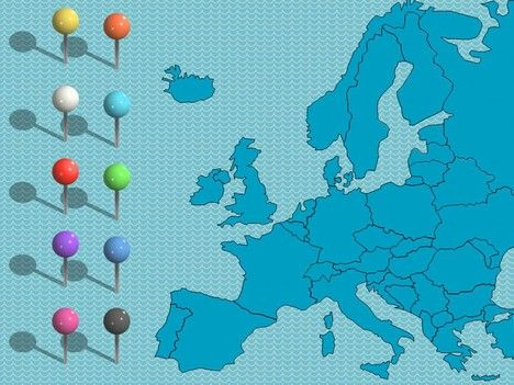 Uk and europe powerpoint maps powerpoint template one of a number uk and europe powerpoint maps powerpoint template one of a number of nice templates from presentation magazine toneelgroepblik Image collections