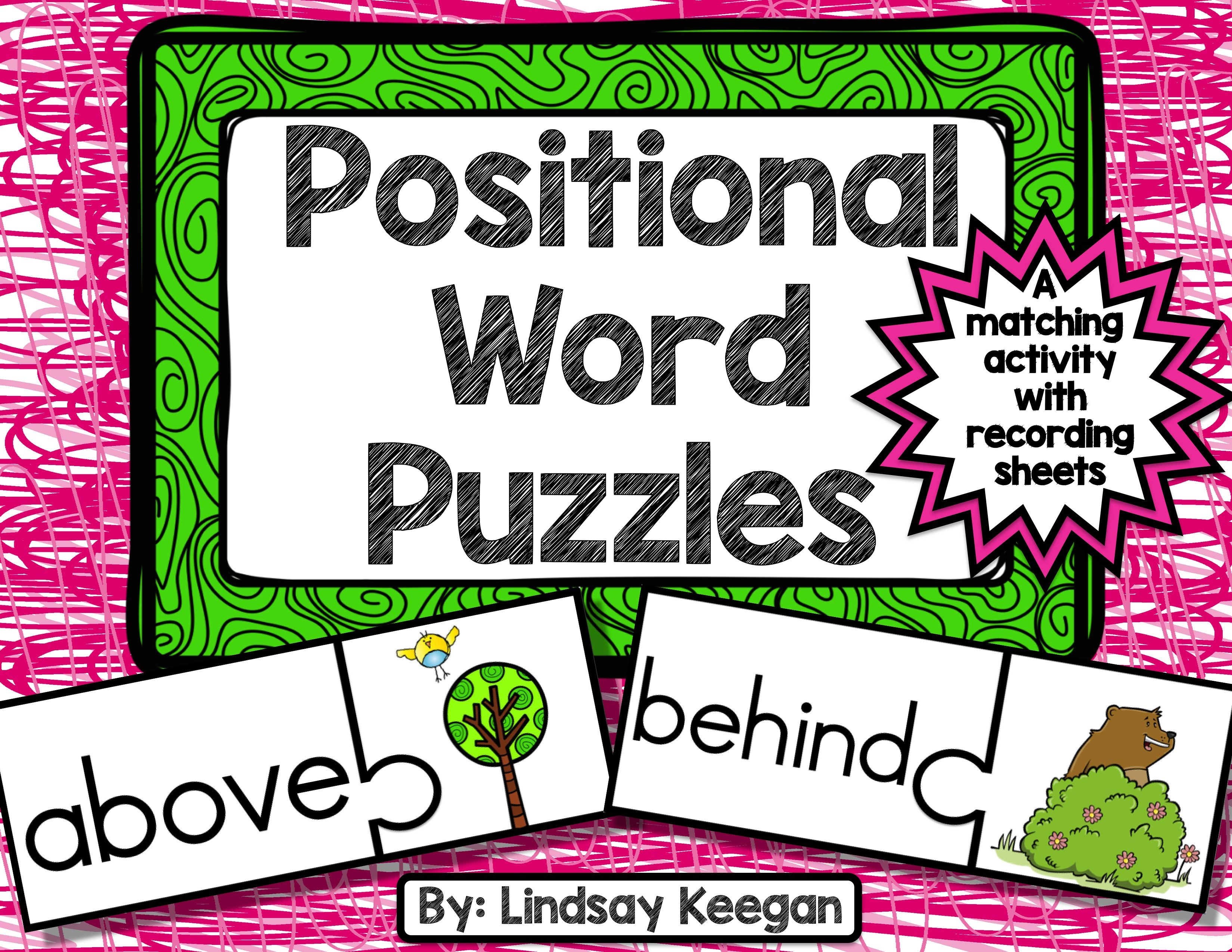Positional Words Puzzles
