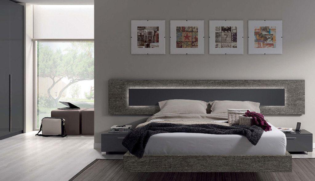 cabezal respaldo cama modelo renamy nuko muebles
