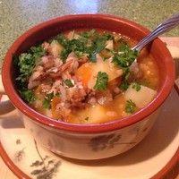 Густой суп с килькой в томате   Рецепт   Еда, Идеи для ...