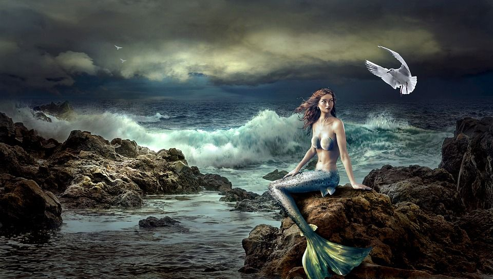 Pin by Peggy Claassen on Fantasy Concepts | Mermaid images, Famous myths,  Mermaid mythology