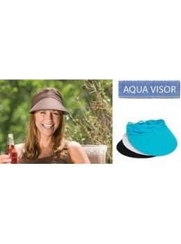 Wallaroo Aqua Visor-Available in 7 Beautiful Colors!!  21590de537e1