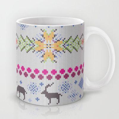 NEW: Winter Knitting Mug by Ornaart - $15.00